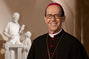 The Most Rev. Thomas J. Olmsted is the bishop of the Diocese of Phoenix. He was installed as the fourth bishop of Phoenix on Dec. 20, 2003, and is the spiritual leader of the diocese's Catholics.